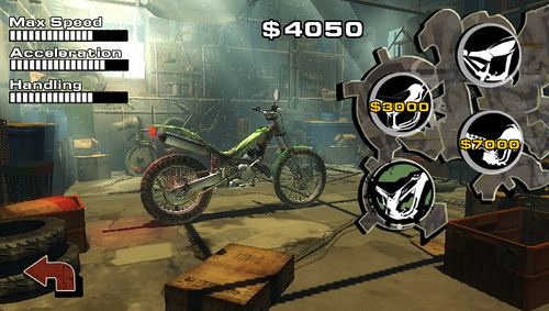 Urban Trial Freestyle allows you to customize the way your bike and rider look and how powerful your bike is with money that is hidden throughout the levels. The money hunt can get tricky at times and is yet another fun addition to game.